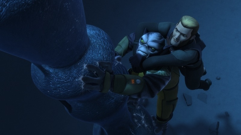 Agent Kallus surviving together with Zeb Orrelios