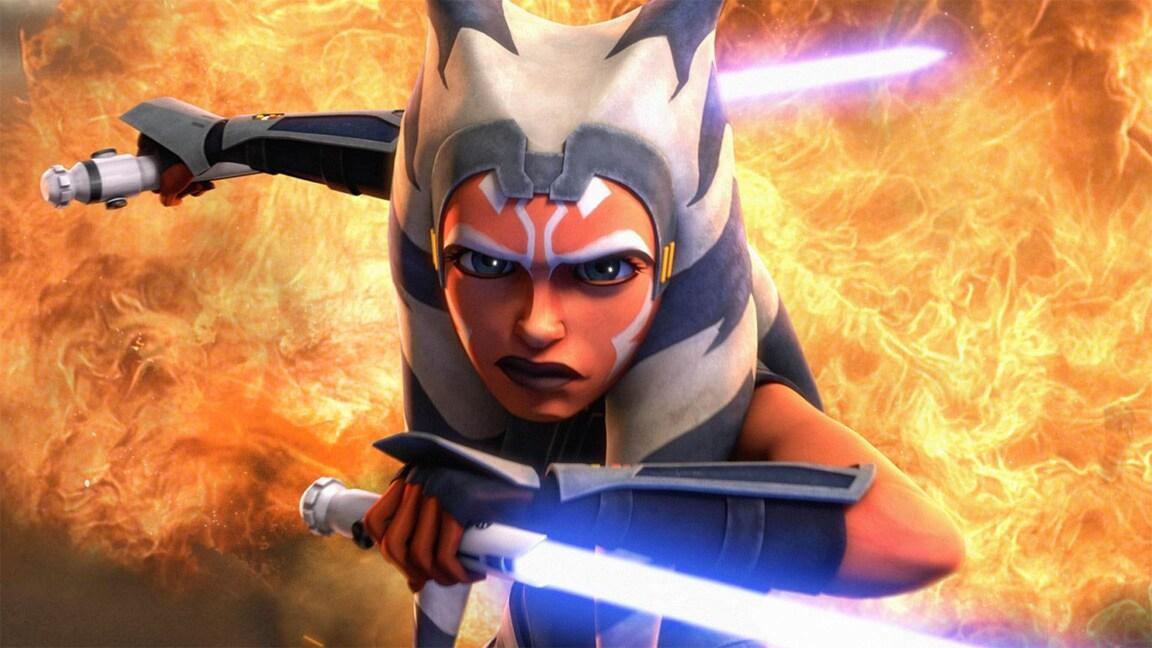 Ahsoka Tano, personagem de Star Wars, terá uma série no Disney+