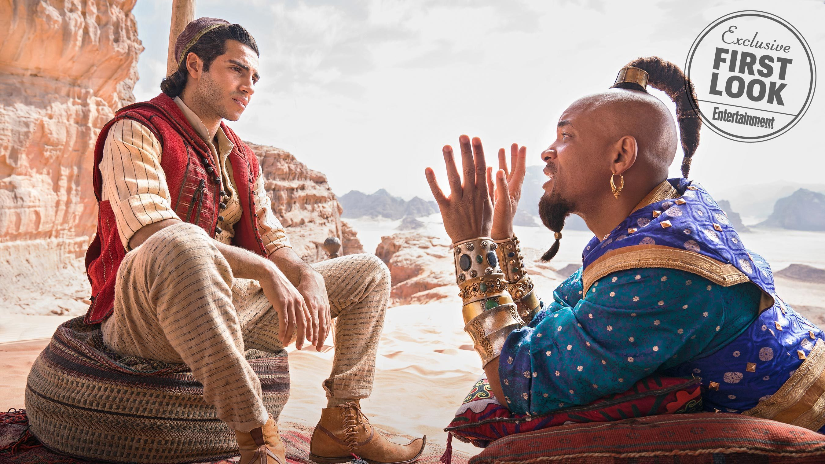 Entertainment Weekly Has Revealed New Photos From Aladdin and We Are Living!