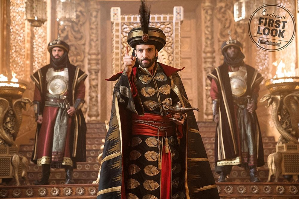 Marwan Kenzar as Jafar in Aladdin