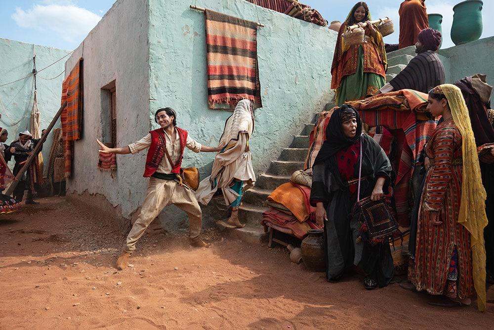 Mena Massoud in Aladdin