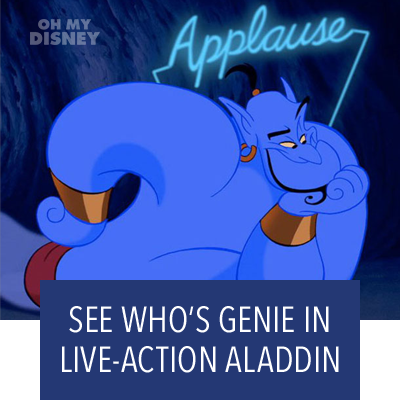 WILL SMITH WILL PLAY GENIE IN ALADDIN, PLUS MORE ALADDIN CAST NEWS!