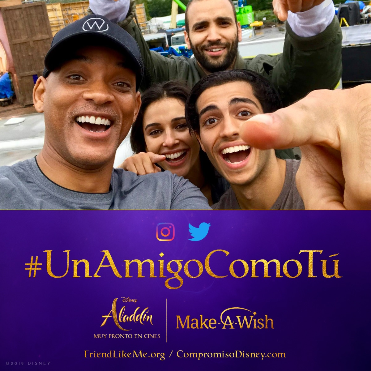 #UnAmigoComoTú