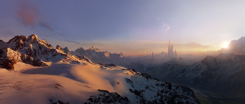 Mountains of Alderaan