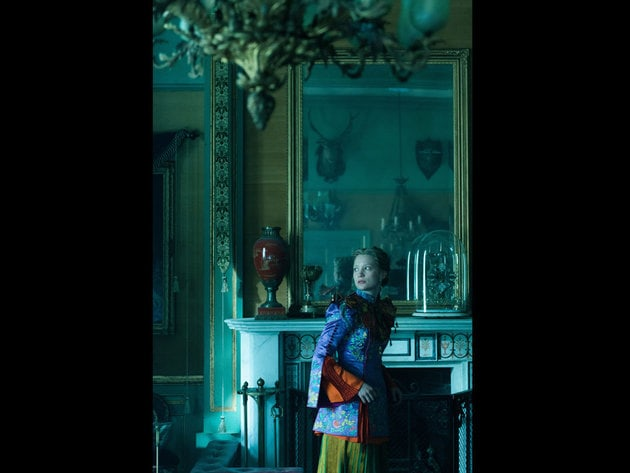 Alice (Mia Wasikowska) returns to the whimsical world of Underland in Disney's Alice Through The ...