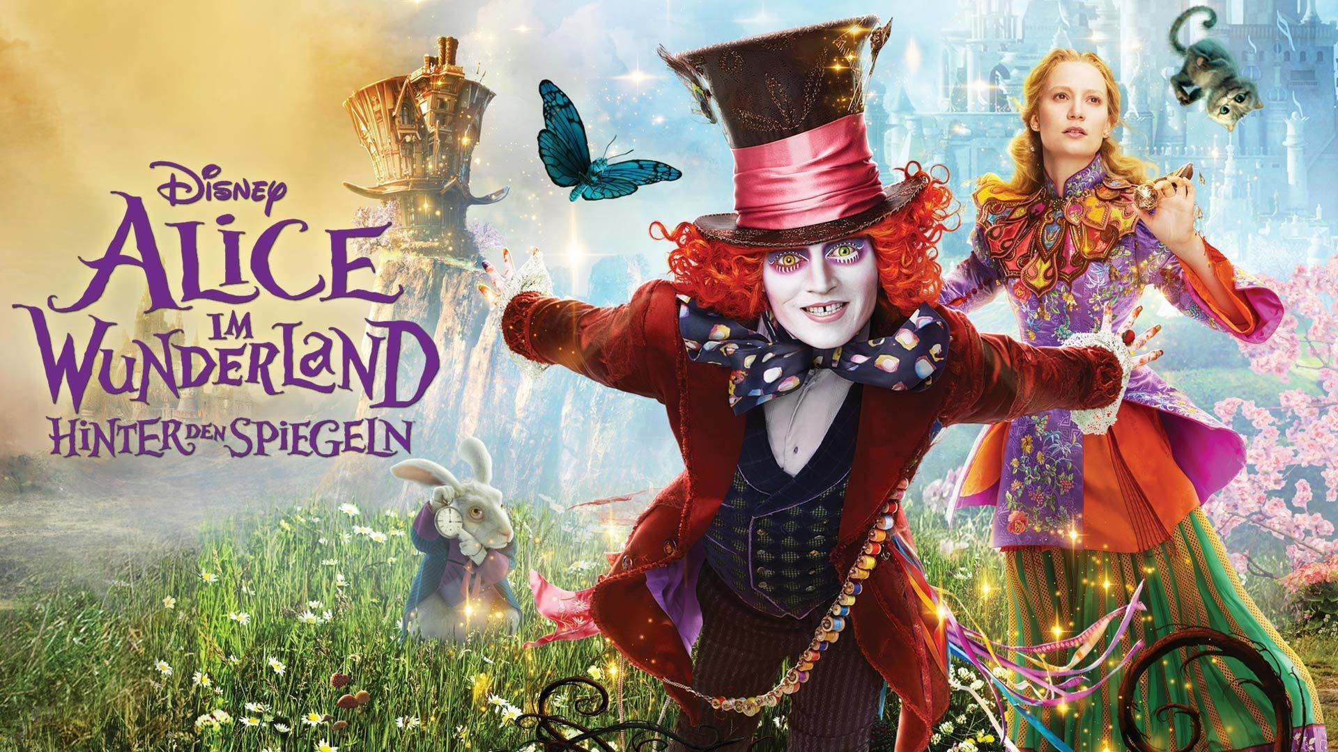 Alice Through the Looking Glass - Poster Flex Hero