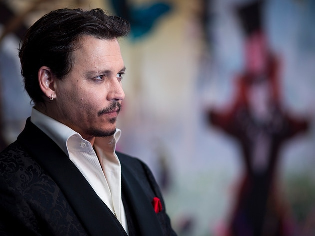 Johnny Depp who plays Hatter
