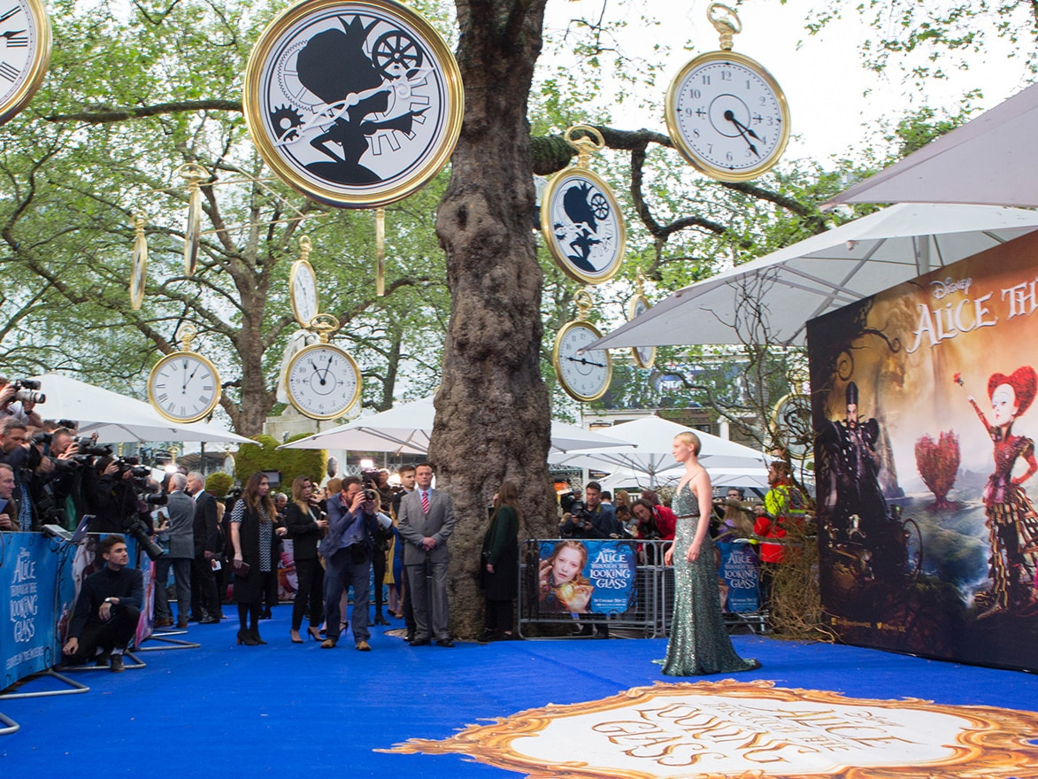 Alice Through The Looking Glass Premiere Pictures