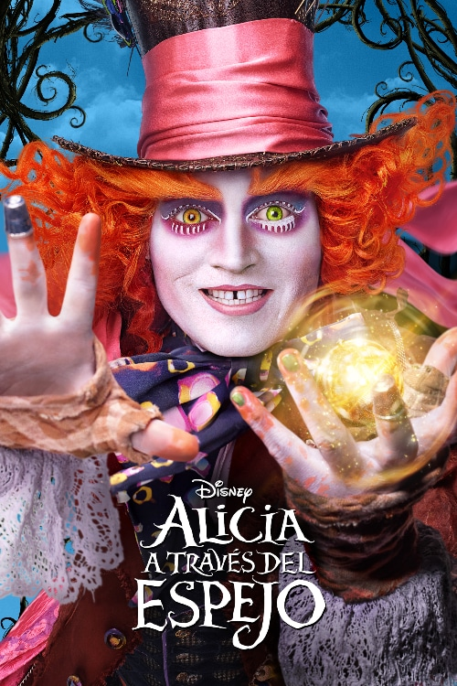 Alice through the looking glass - ES - Poster