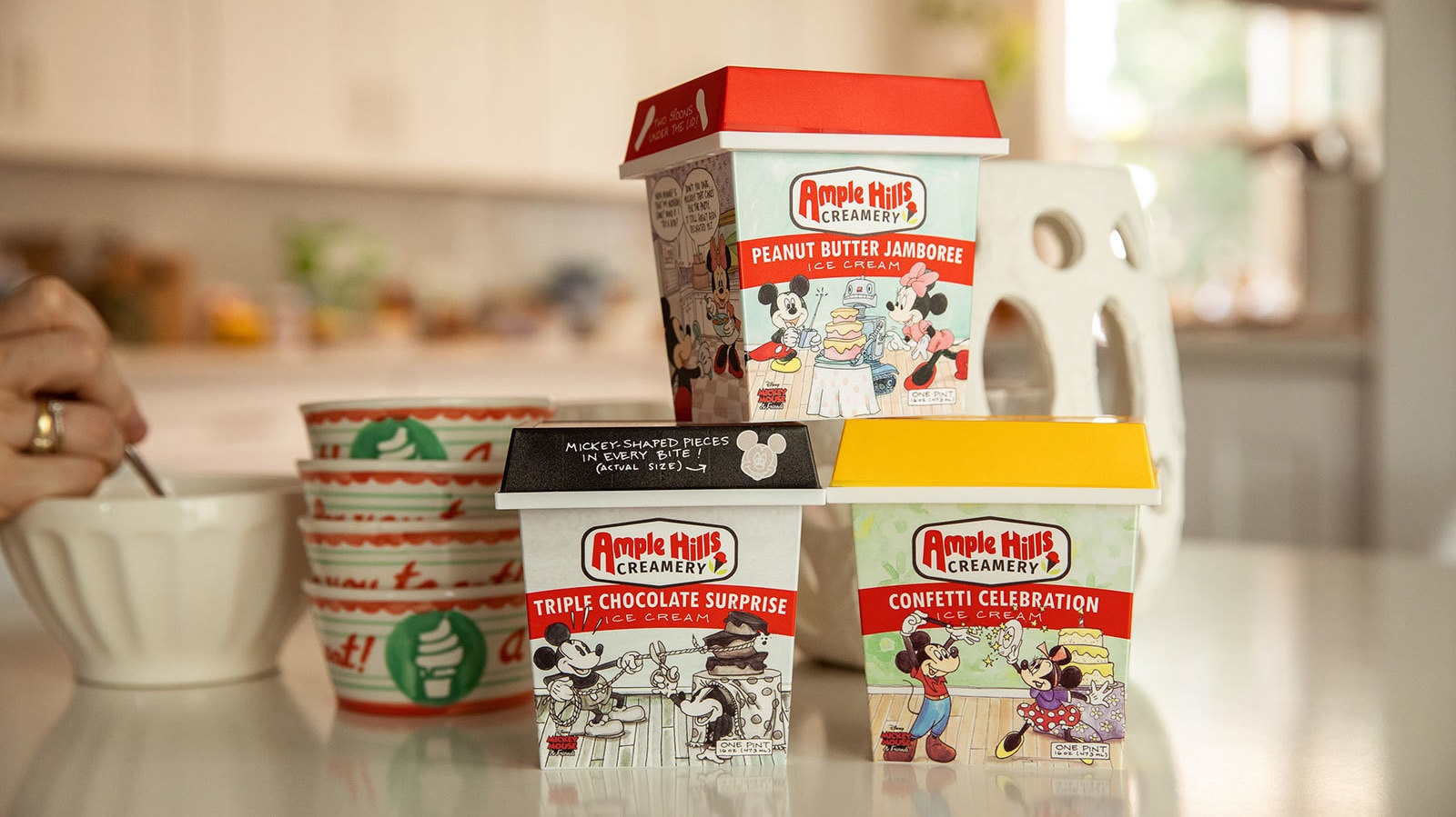 Sugarfina and Ample Hills Creamery Add a Sweet Surprise for Mickey's 90th