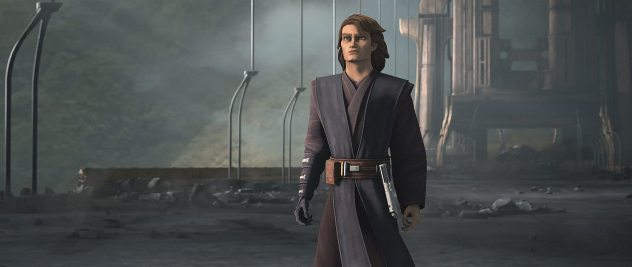 Anakin Skywalker in The Clone Wars