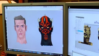 Animating Darth Maul