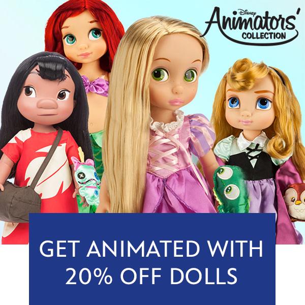 Animator Dolls Offer