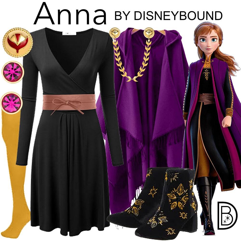 Anna Disney bound