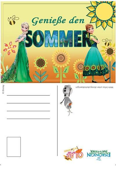 Sommer genießen: Olafs Postkarten