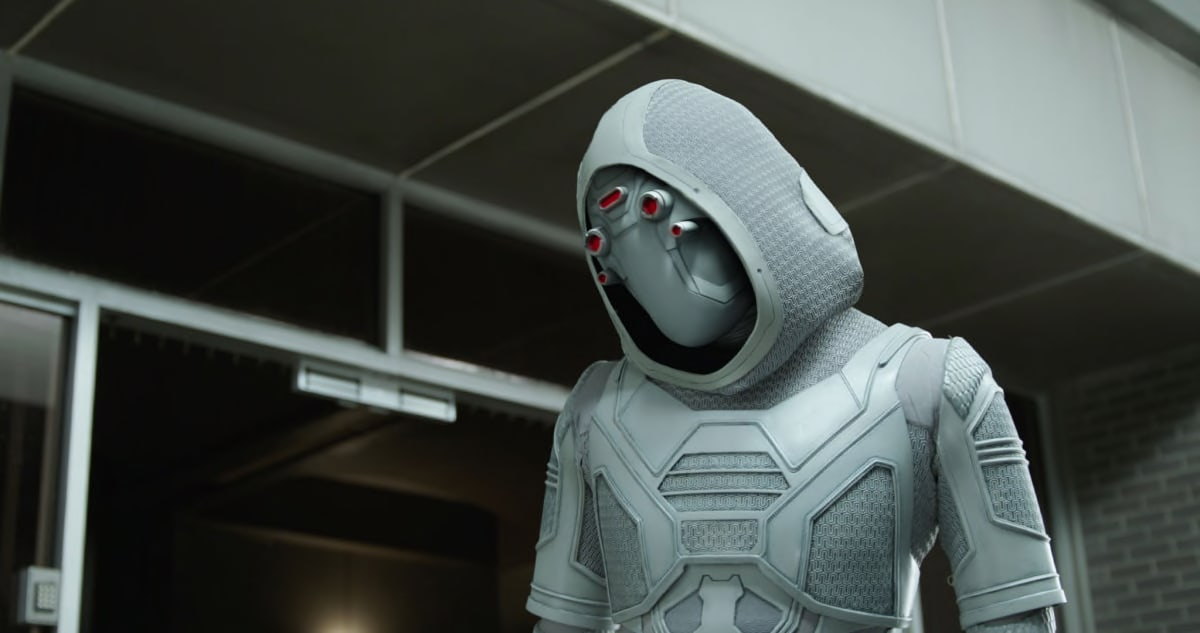 Ghost With Mask Ant-Man and the Wasp