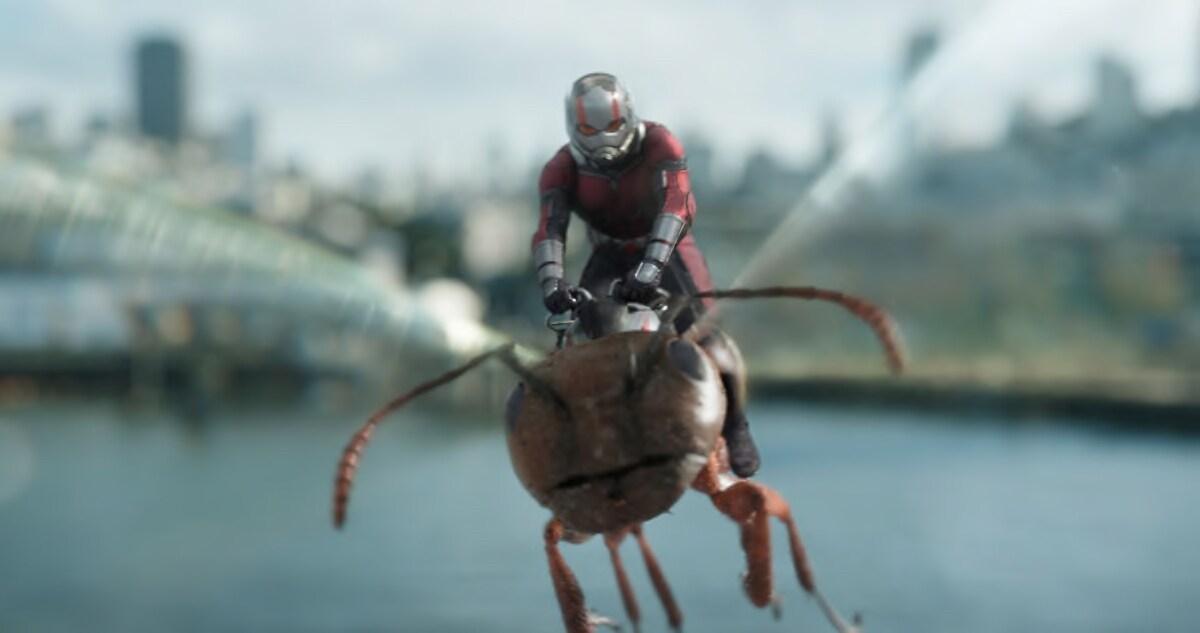Ant-Man Flying