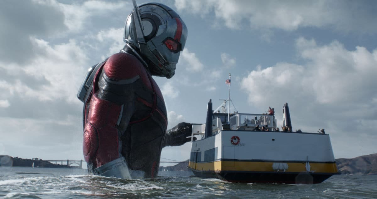 Ant-Man in the Ocean Photograph