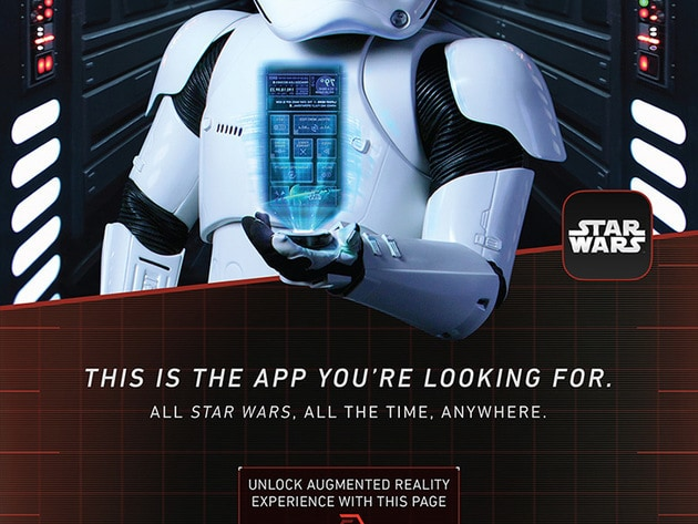 Official app poster, unlock the Augmented Reality experience with this image!