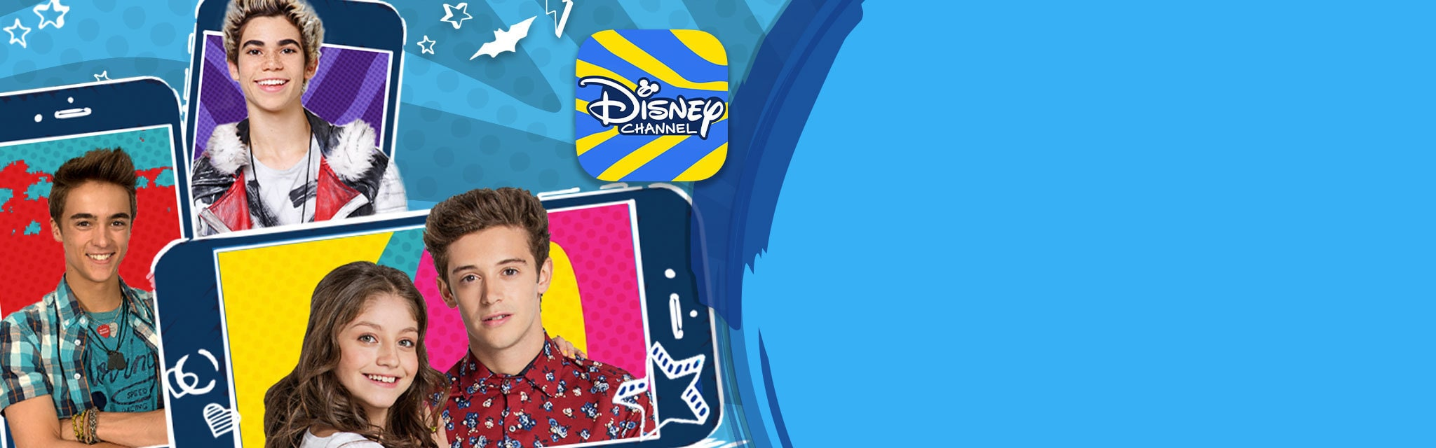 Disney Channel: App - Homepage (hero)