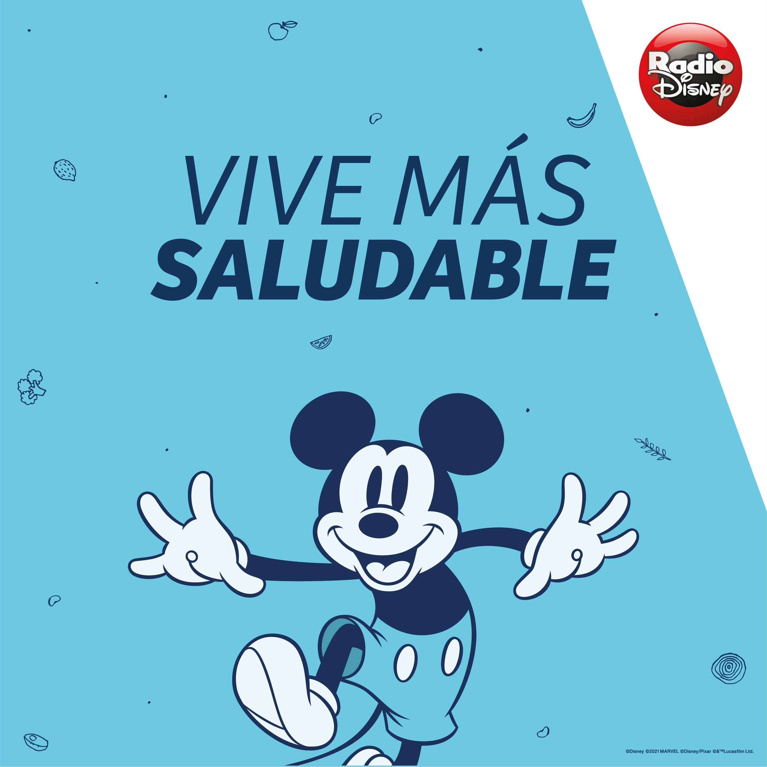 ¡Vive más saludable con Disney!
