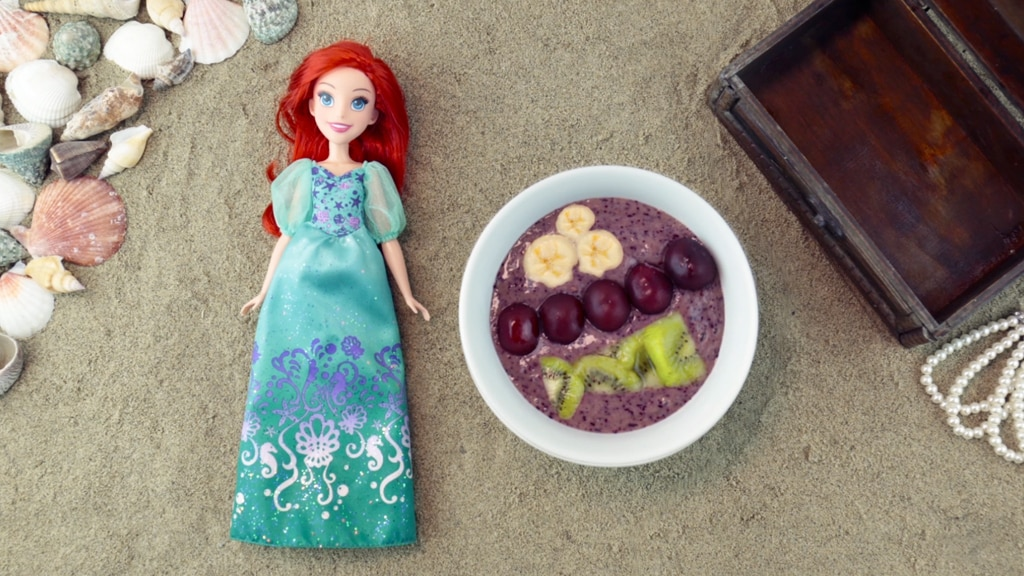 Ariel-Inspired Smoothie Bowl