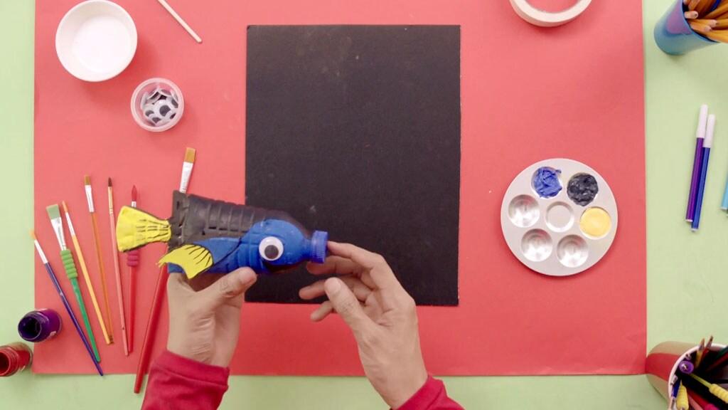 Art Attack | #ShowMeYourArt เอพิโสด 1: Finding Dory จากขวดน้ำ