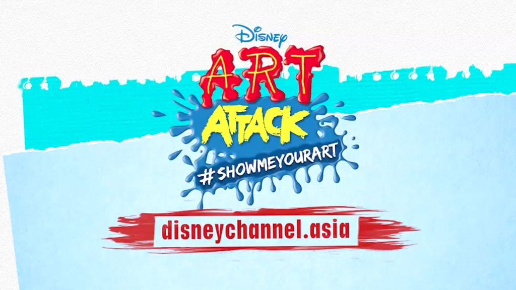 Art Attack Web Series #Showmeyourart Trailer