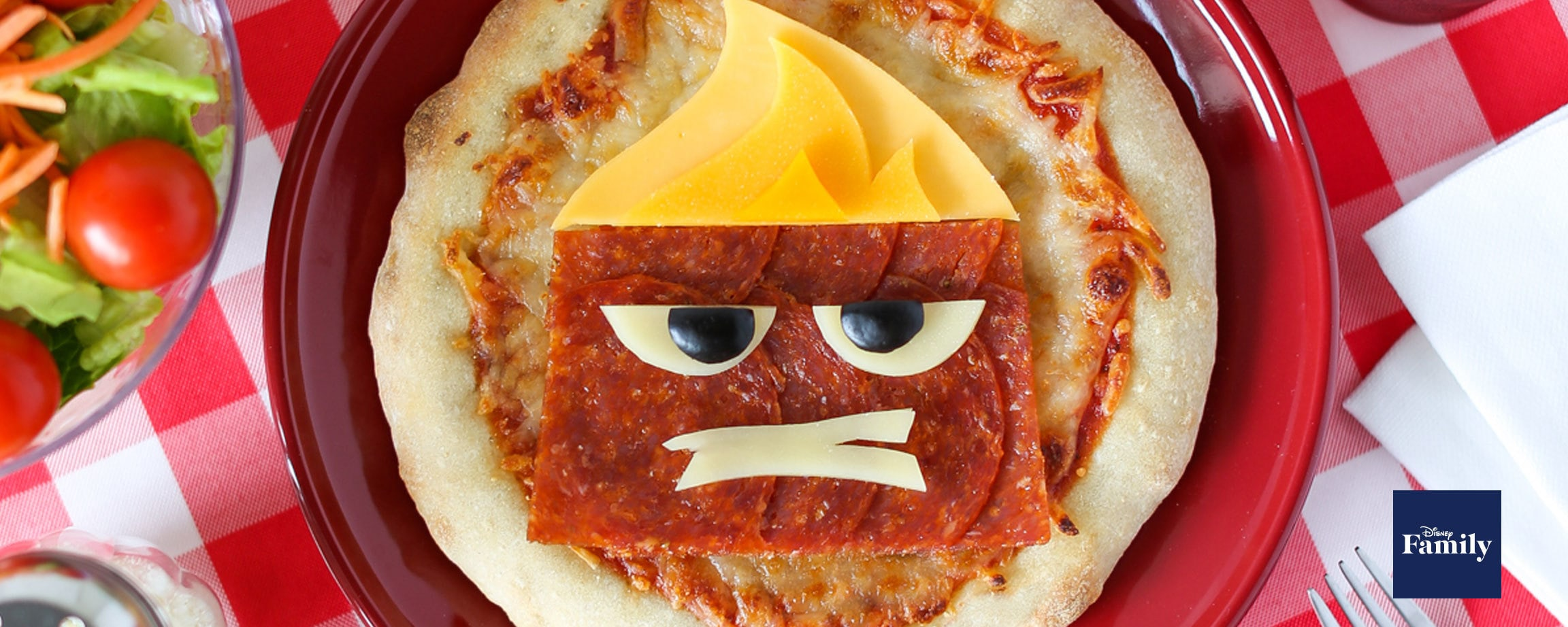 Pixar's Inside Out Anger Pizza