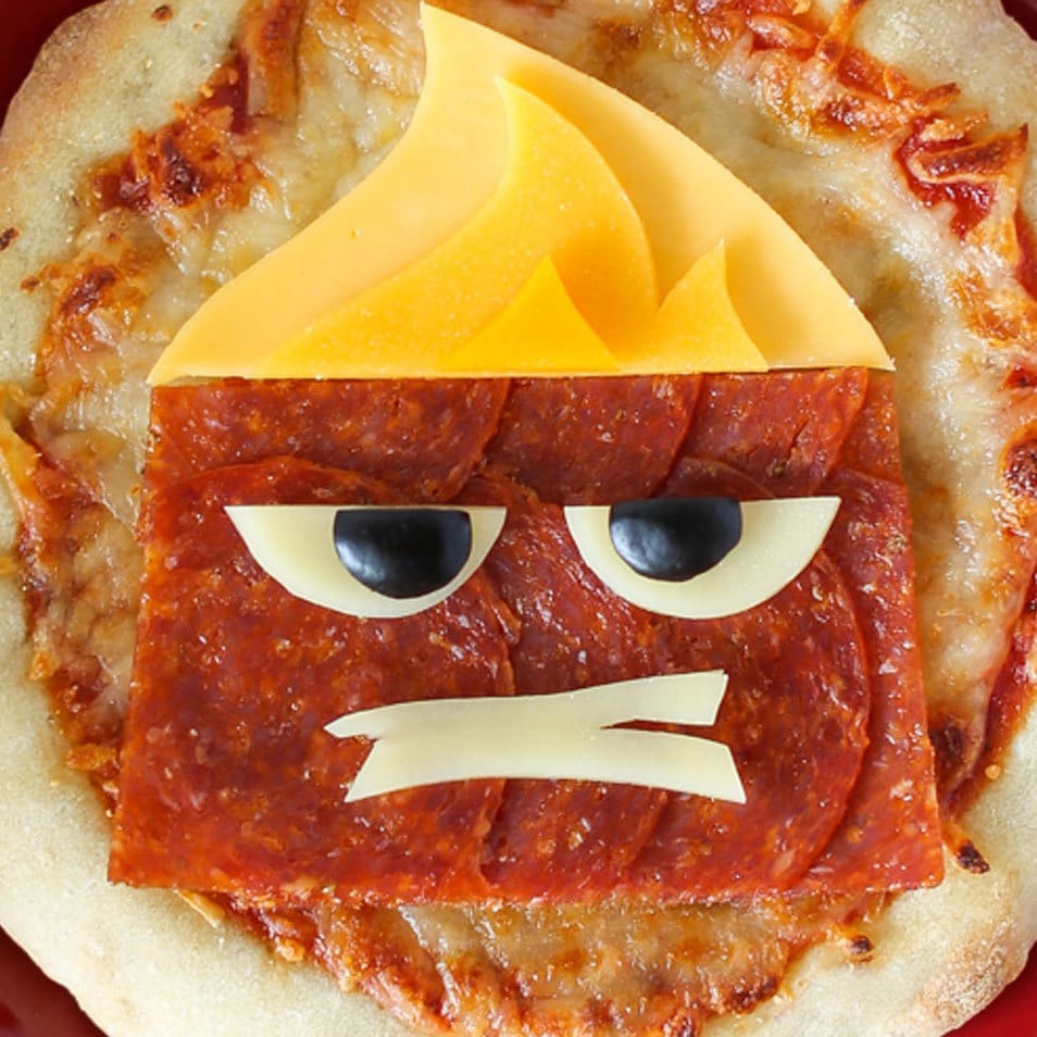 Get Mad About Pizza With Anger From Pixar's Inside Out