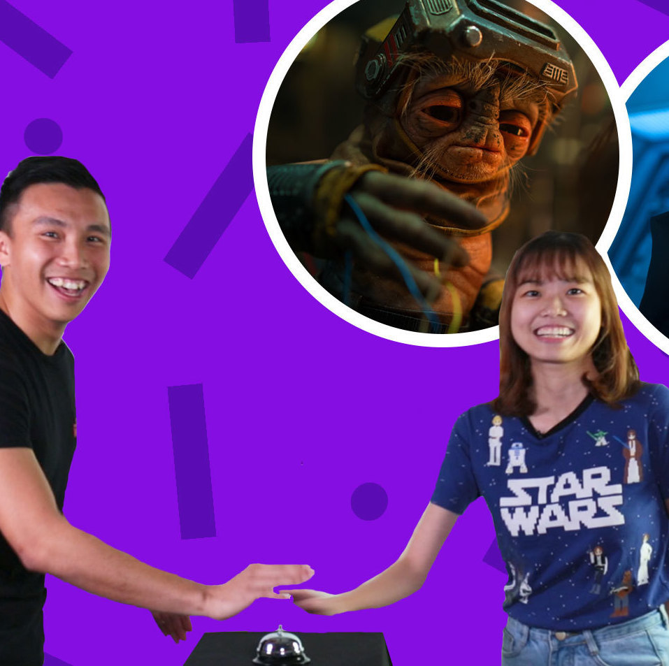 Can This Star Wars Couple Name These Star Wars: The Rise Of Skywalker Characters?