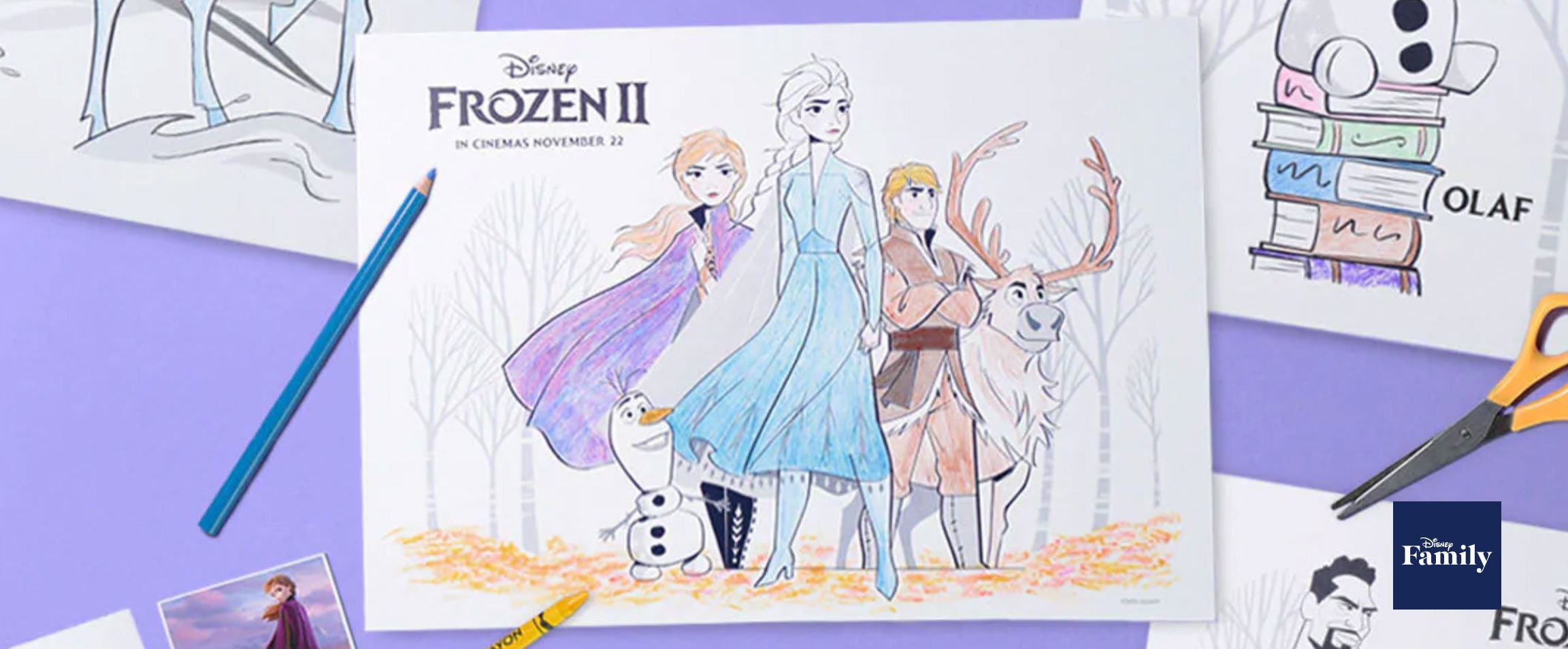 Disney Coloring Pages Frozen