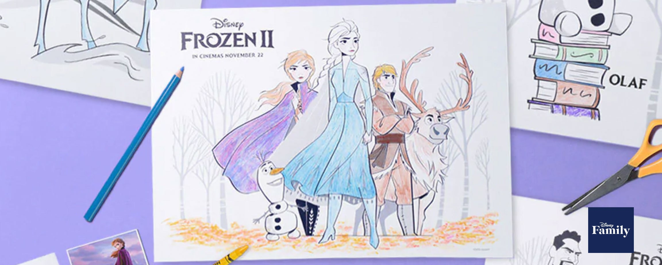 Disney's Frozen 2 Printable Activity Pages