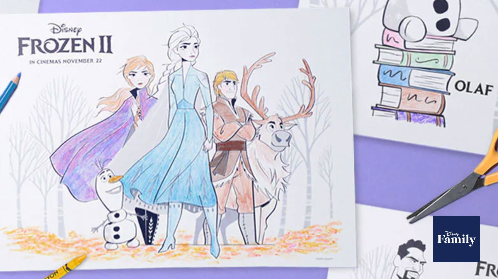 Your Little Ones Will Love These Disney's Frozen 2 Printable Activity Pages