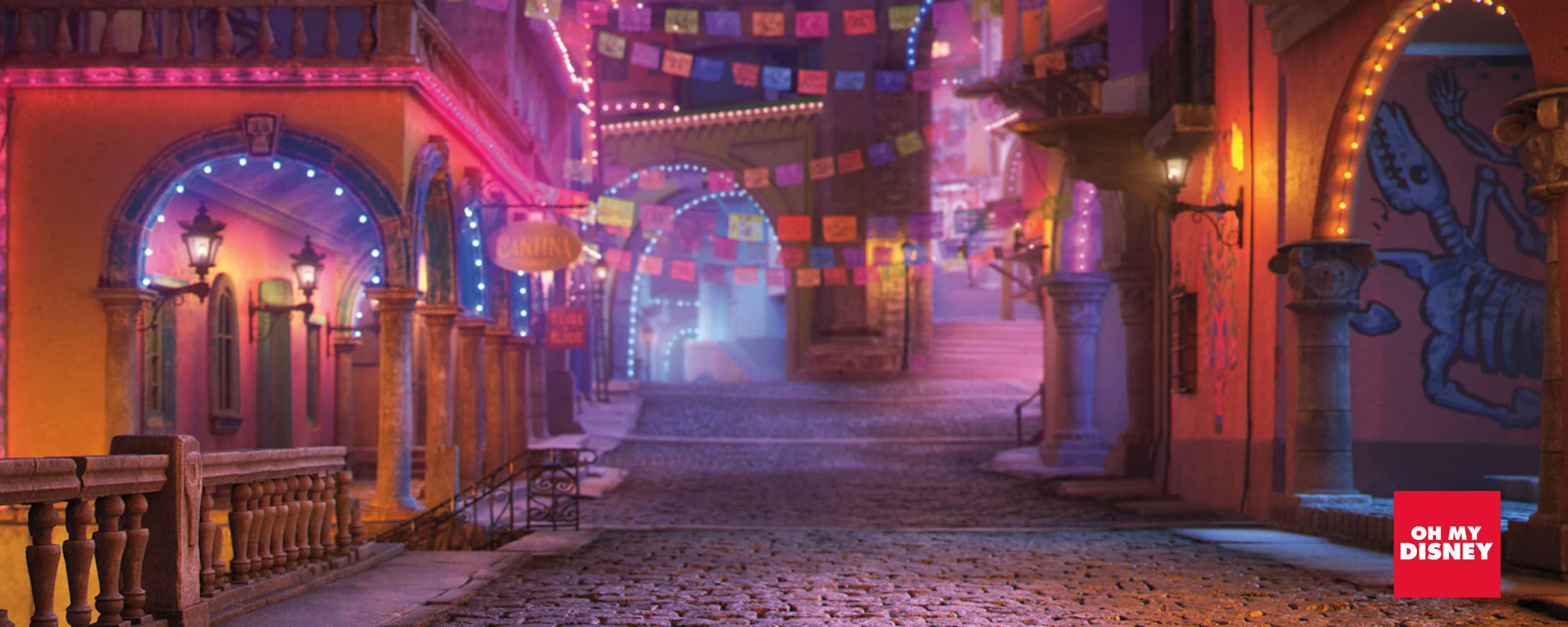 Pixar Coco Video Background