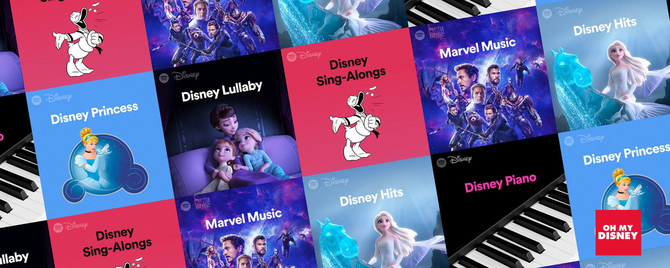 Disney Hub Playlists