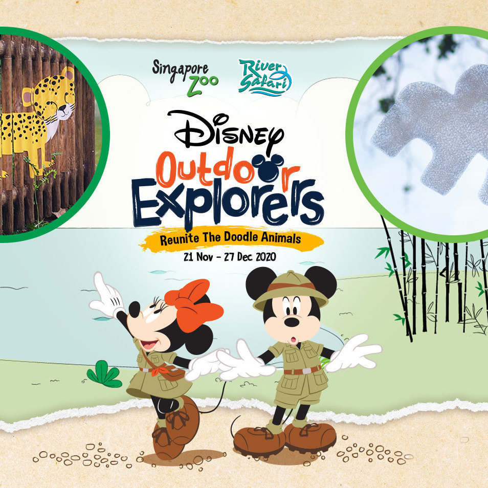 "5 Things You Cannot Miss At ""Disney Outdoor Explorers"" Happening At Singapore Zoo & River Safari"