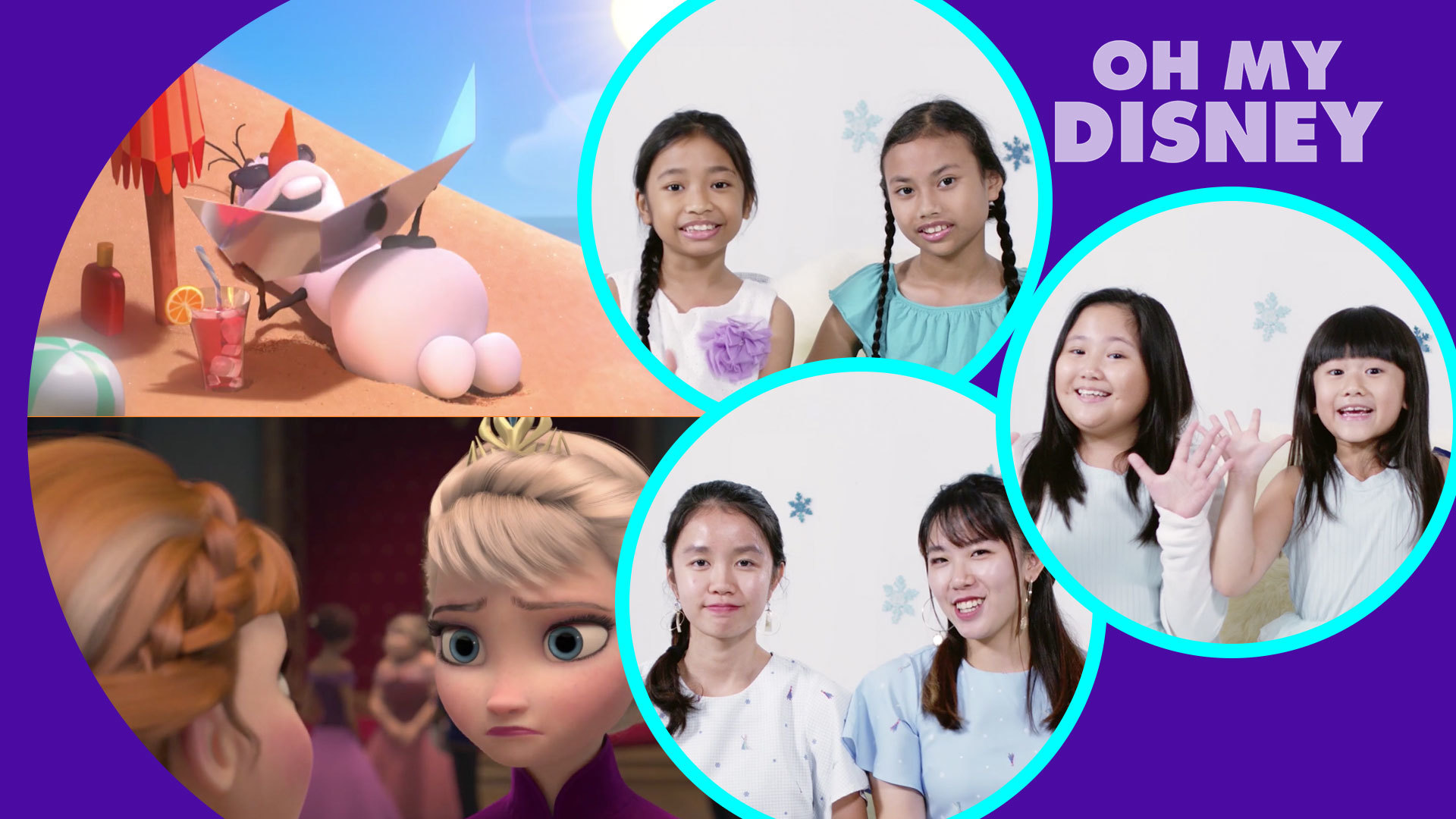 Disney's Frozen As Told By Sisters – To Get You Ready For Disney's Frozen 2!