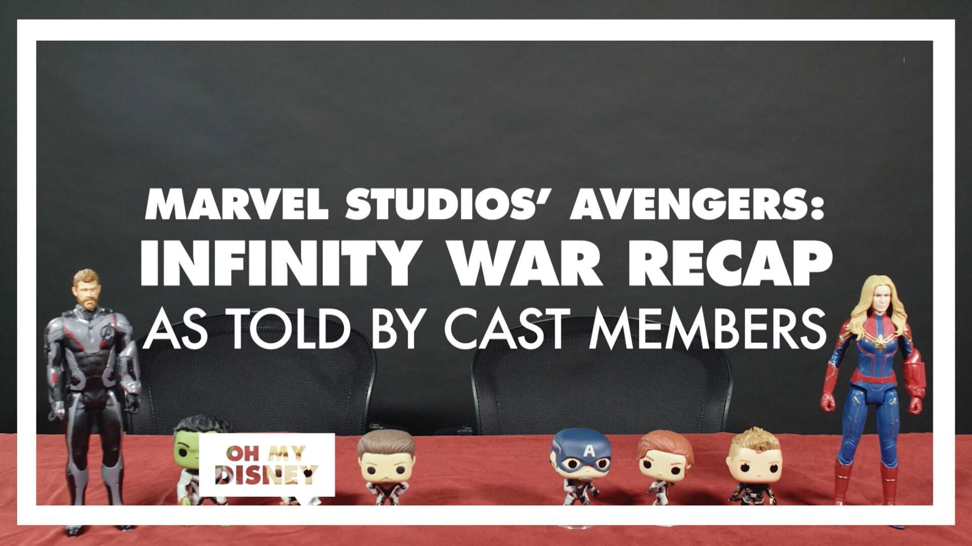 As Told By: Cast Members Recap Marvel Studios' Avengers: Infinity War