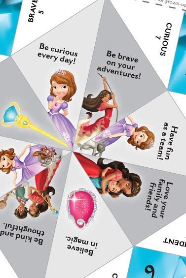 Princess Inspirational Jewel Activity