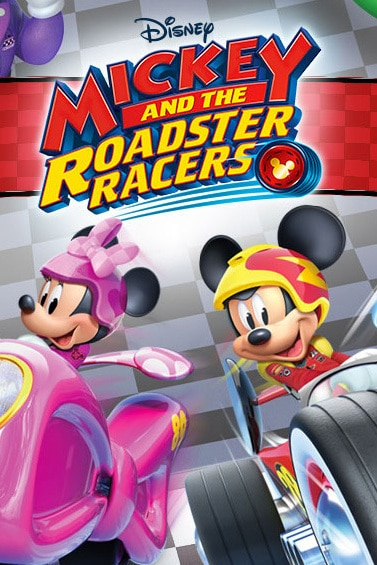 Mickey and the Roadster Racers - Wallpaper for Tablet