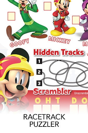Mickey and the Roadster Racers -Puzzler