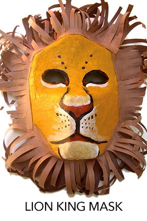 Lion King Mask