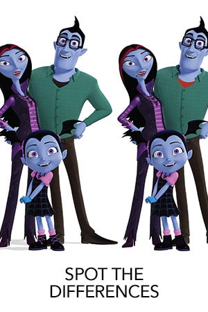 Vampirina - Spot The Differences