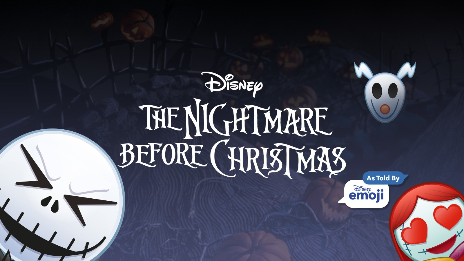 The Nightmare Before Christmas As Told by Emoji
