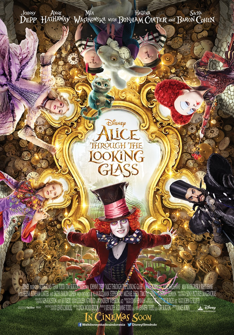 Alice Through the Looking Glass ผจญภัยมหัศจรรย์เมืองกระจก