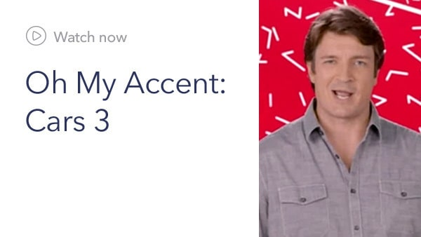 Cars 3 - OMD - Oh My Accent  - Now Slider - Homepage - Link AU