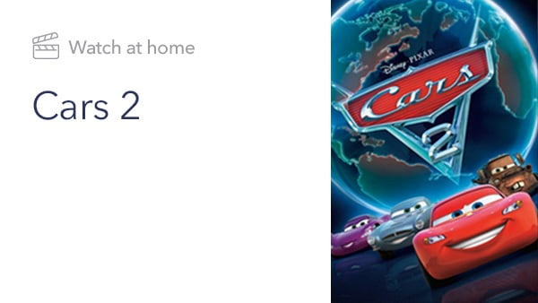 Cars 2 - Movie - Priority Content Slider - Homepage - Link AU