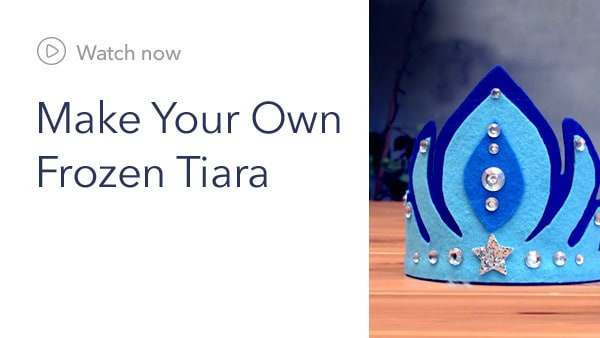 Family - DIY: Frozen Tiara - Near Future Slider - Homepage - Link AU