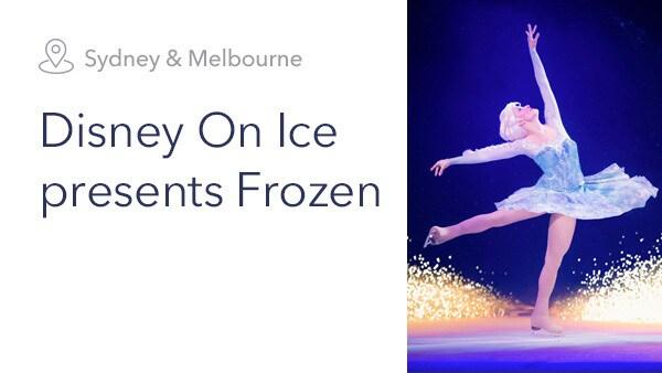 DTP - Disney on Ice presents Frozen - Plan Your Adventure Slider - Homepage - Link AU